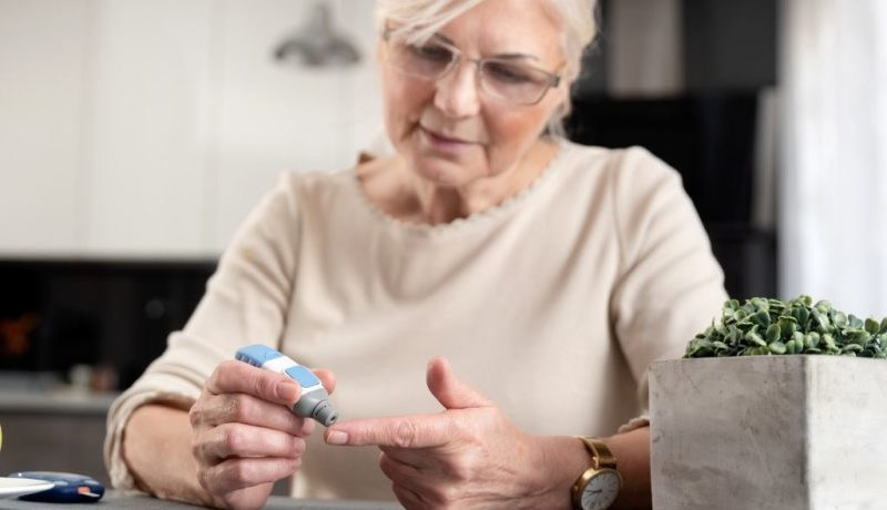 how wound care services help residents with diabetes